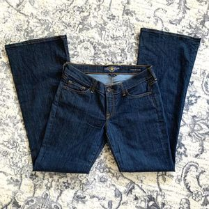 Lucky Brand Dark Washed Charlie  Flare Jeans